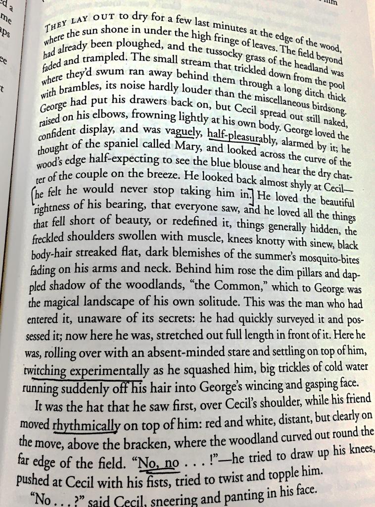 Alan Hollinghurst, The Stranger's Child (2011), pg. 63